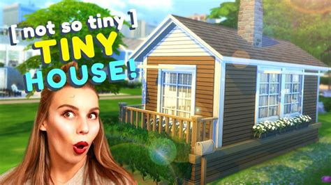 not so small house the not so tiny tiny house the sims 4 house building