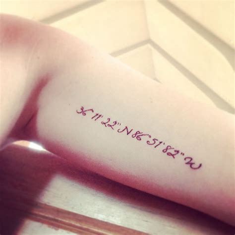 tattoo fonts for coordinates 17 best ideas about coordinates on