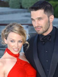 Gives Oliver Martinez A by Minogue Gives Olivier Martinez A Second Chance