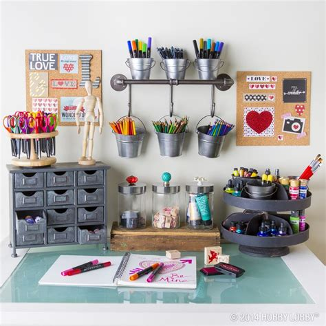 art desk with storage if art supplies have taken over your desk clean it up