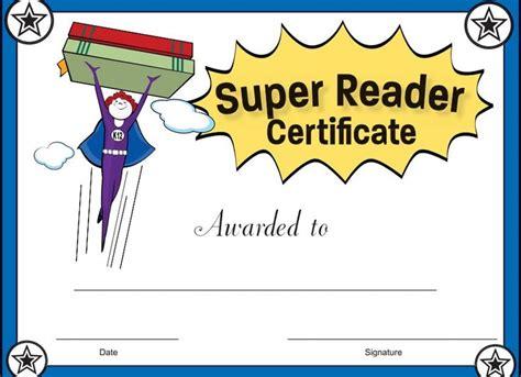 best reader reader certificate for reward your students
