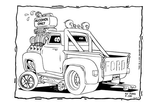 printable coloring pages hot rods free coloring pages of rat rod cars