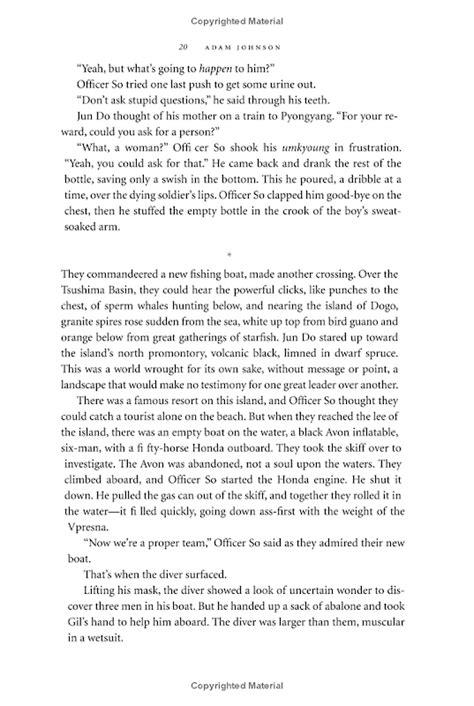 The Orphan Master's Son: A Novel