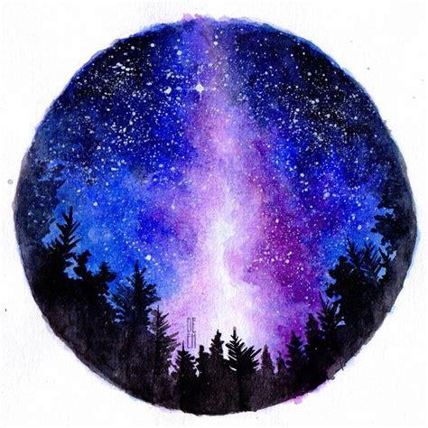 tutorial watercolor galaxy the 25 best galaxy art ideas on pinterest galaxy