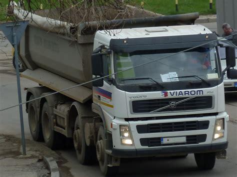 truck spotting volvo fm  dump truck