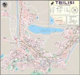 city maps cities and tbilisi districts