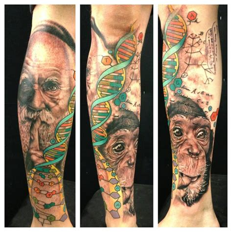 see more darwin s theory of evolution in tattoos