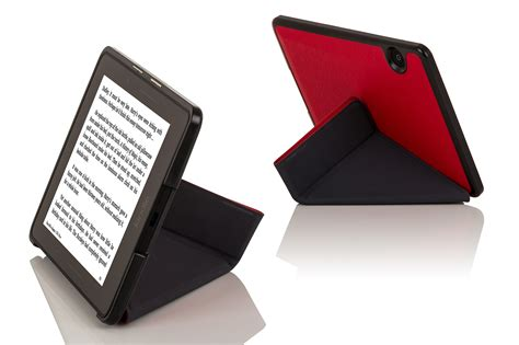 Origami Kindle - leather smart origami cover for kindle voyage