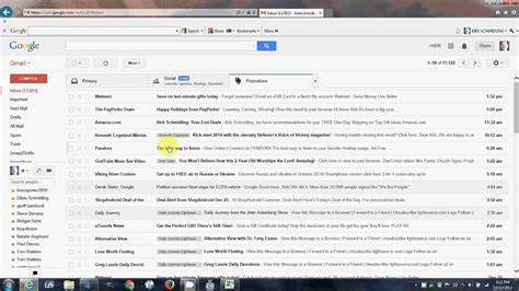 organize  google gmail inbox youtube