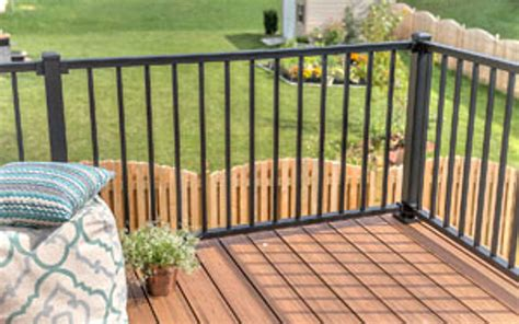 Trex Transcend Decking by Trex Post Components Outdoor Stairs Railing For Any