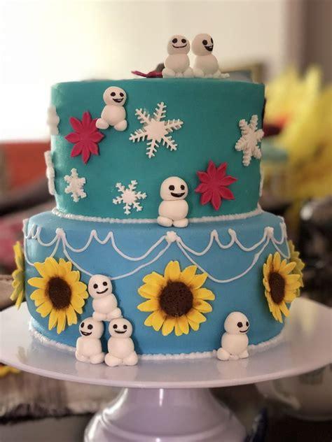 frozen fever cake   frozen fever cake frozen