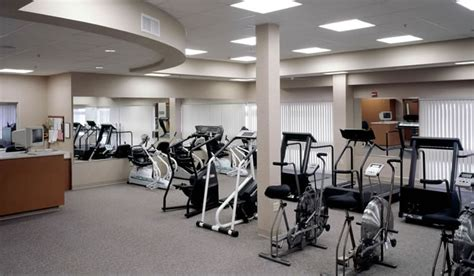 room cardio fremont rideout hospital healthcare interior design