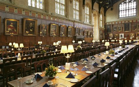 Clear Dining Room Table by Harry Potter In Oxford Suitqais Diaries