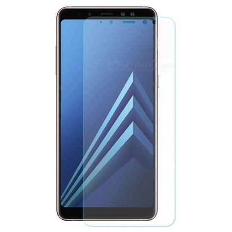 Samsung A8 Plus 2018 Tempered Glass Anti Gores Kaca Cover 2 5d protecteur d 233 cran en verre tremp 233 enkay 2 5d pour samsung