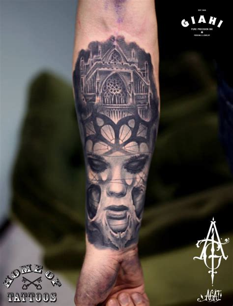 church tattoo sad church graphic by agat artemji best