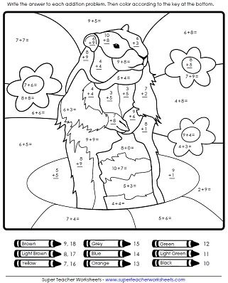 groundhog day viewing worksheet answers collections of math worksheets for primary 1 easy