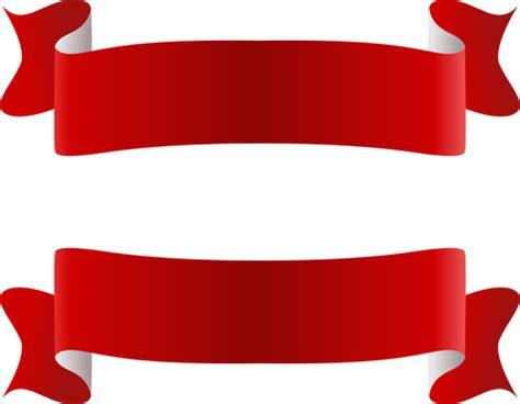 Flat Pita Galaxy Merah pita merah putih vektor gambar domain publik vektor