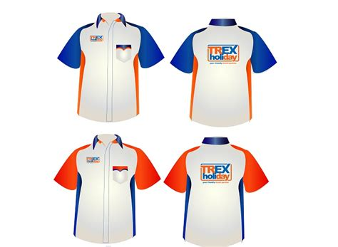 lowongan kerja design t shirt sribu office uniform clothing design seragam kerja trex h