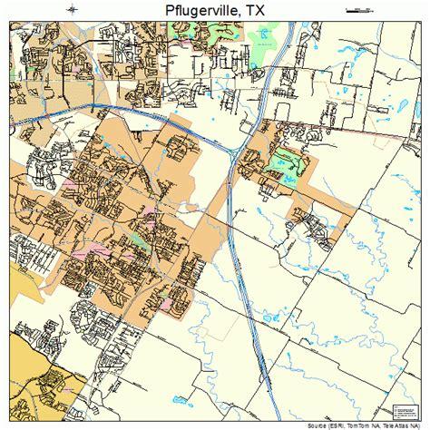 pflugerville texas map pflugerville texas map 4857176