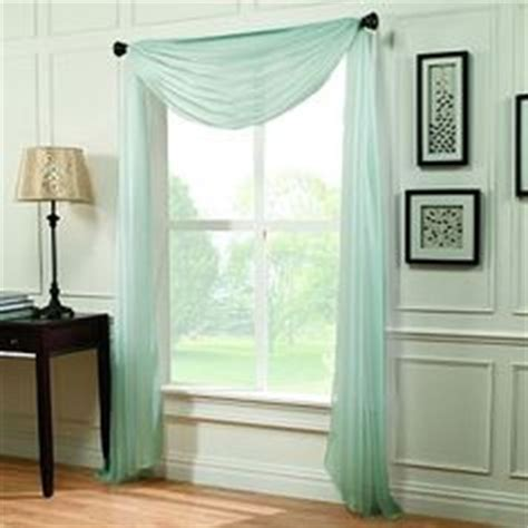 how to dress a window with voile and curtains 1000 ideas about window scarf on pinterest elegant