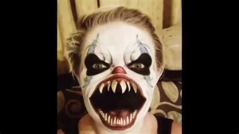 imágenes de halloween de terror maquillaje de halloween de miedo youtube