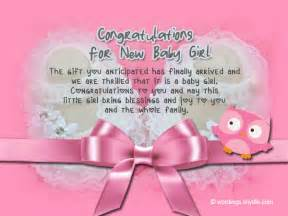 congratulations messages for new baby wordings and messages