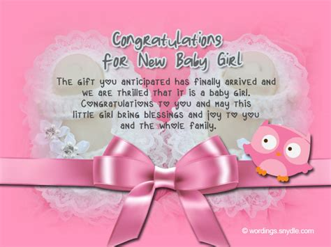 Baby Shower Congrats Wording by Congratulations Messages For New Baby Wordings And