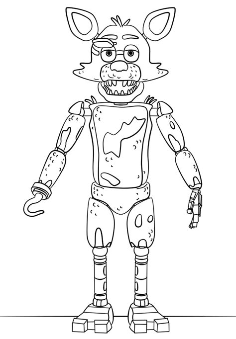 Fnaf 2 Coloring Pages by Bonnie Bunny Free Colouring Pages