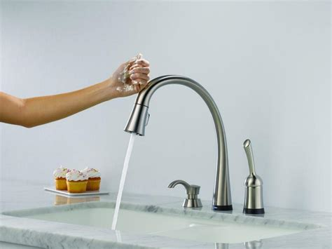touch sensitive kitchen faucet photos hgtv