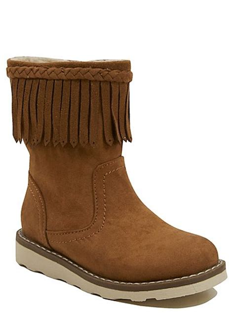 wedge fringe boots george at asda