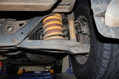 mitsubishi pajero suspension project pajero ultimate suspension installation