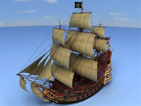 boat maker cartoon cartoon pirate ship deck