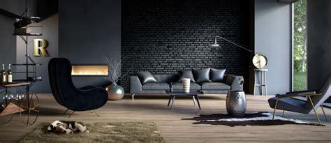 Living Room Wall Colours - lighting ideas for your industrial living room