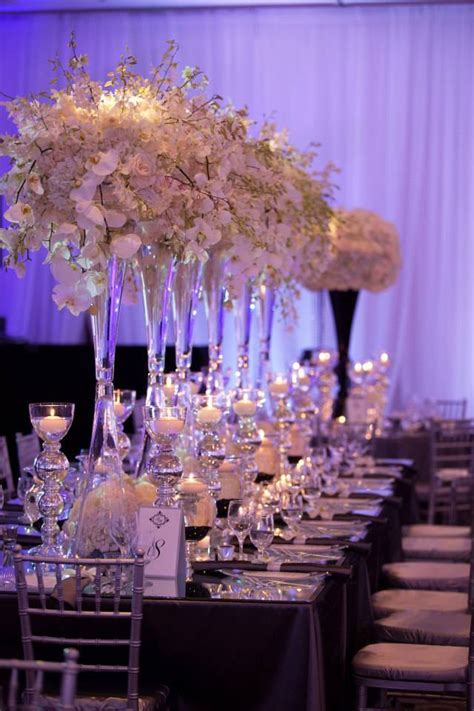 Combine Classic And Contemporary Wedding Reception
