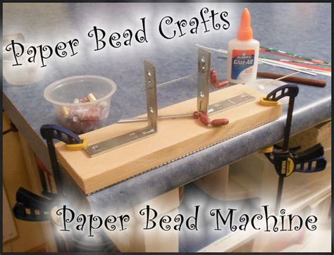 Paper Bead Machine - pin by tami on paper bead crafts