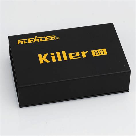 box killer authentic aleader box killer 80w silver 7ml bf squonk tc