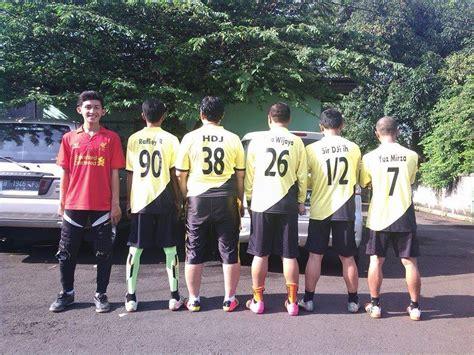 Kaos Tim Futsal Dan Sepak Bola kaos sepak bola keren
