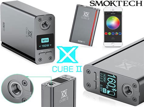 Smok X Cube Ii Wismec Plus smok x cube ii 160w tc 41 15 bons plans vape discount