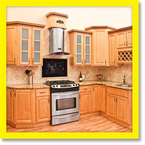 Kitchen Wood Cabinet All Wood Kitchen Cabinets 10x10 Rta Richmond Ebay