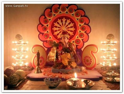 ganpati decoration at home 100 home ganpati decorations ideas pictures part 2 3