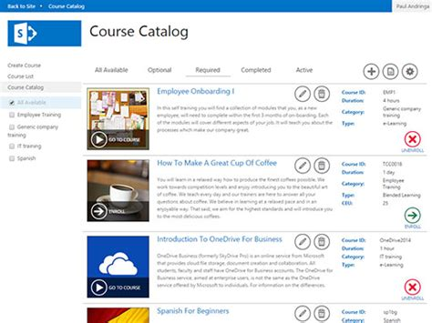 course catalog template pictures to pin on pinterest