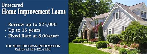 unsecured home improvement financing 28 images