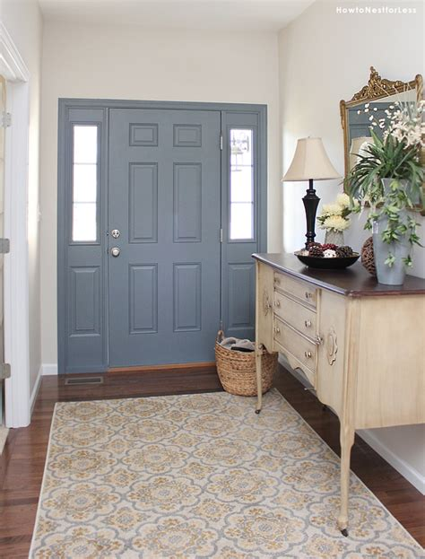 Fall Entryway Ideas Entryway Foyer Makeover How To Nest For Less