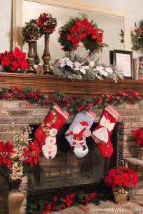 How To Decorate A Fireplace For Christmas our christmas mantel how to nest for less