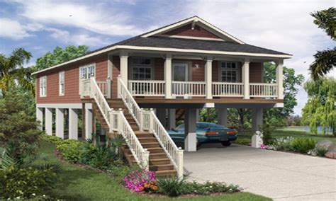 Elevated Home Plans by Elevated Florida House Plans Raised House Plans