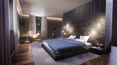 create a modern bedroom interior in blender in 35 minutes