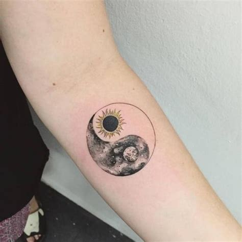 yin and yang tattoo 80 peaceful and intriguing yin yang designs for your next