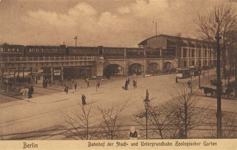 S U Zoologischer Garten Station by Berlin Zoologischer Garten Railway Station