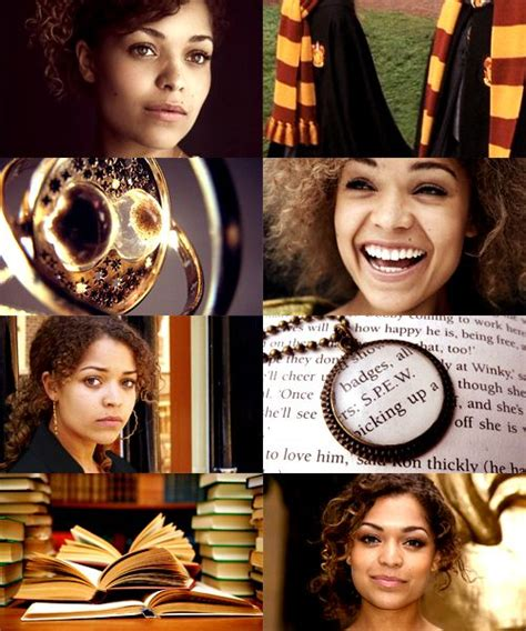 tom jackson oc c harry potter fancast antonia thomas as hermione granger