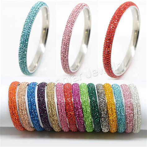 bangles and 5 rows fashion high quality stainless steel